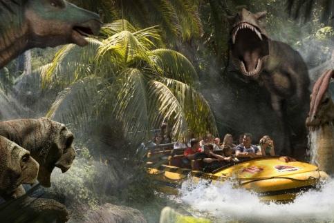 Jurassic Park Ride 3a